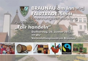 FAIRTRADE-Stadt Braunau am Inn