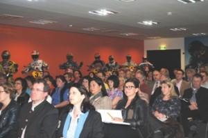 TeilnehmerInnen beim Bildungsdialog März 2012