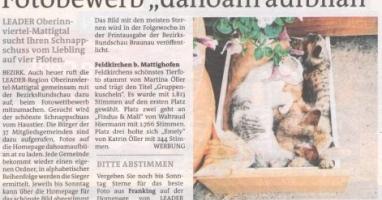 "Fotobewerb ""dahoam aufblian"" Siegerfoto Feldkirchen"