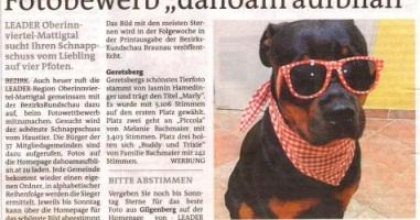 "Fotobewerb ""dahoam aufblian"" Siegerfoto Geretsberg"
