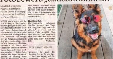 """Fotobewerb """"dahoam aufblian"""" Siegerfoto Hochburg-Ach"""