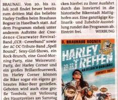 Brauhaus Bogner Harley-Treffen in Haselbach