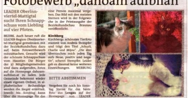 "Fotobewerb ""dahoam aufblian"" Siegerfoto Kirchberg"