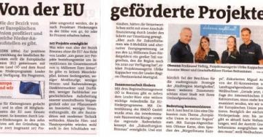 Von der EU geförderte Projekte