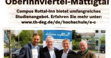 Studieren in der Region Oberinnviertel-Mattigtal