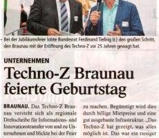 Techno-Z Braunau feiert Geburtstag