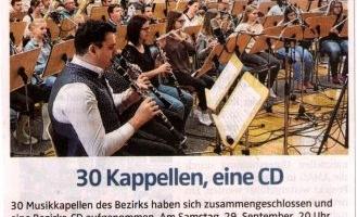 30 Kapellen, eine CD