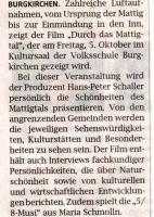 """Film: """" Durch das Mattigtal"""""""