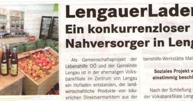 Lengauer Laden: Ein konkurrenzloser Nahversorger in Lengau
