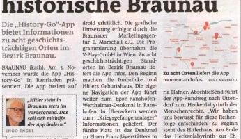 Spaziergang durchs historische Braunau