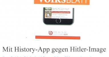 Mit History-App gegen Hitler-Image