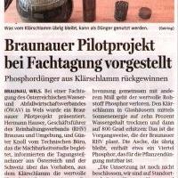 Braunauer Pilotprojekt bei Fachtagung vorgestellt