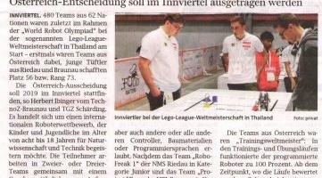 Lego-League bald in Region?