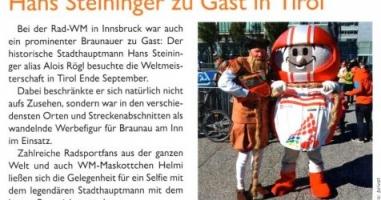 Hans Steininger zu Gast in Tirol