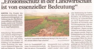 Erosionsschutz in der Landwirtschaft ist von essentieller Bedeutung