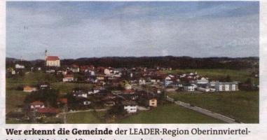 Die LEADER-Region von Oben