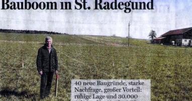 Bauboom in St.Radegund