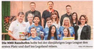 Der Sieger der Lego League steht fest