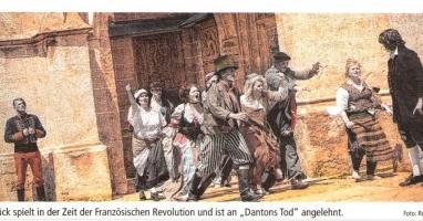 """Der Braunauer Theatersommer präsentiert """"Danton"""""""