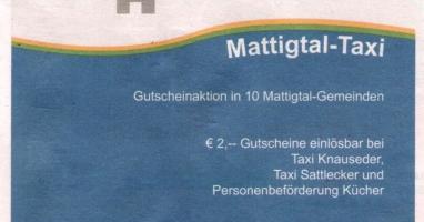 """MAXI - Das """"Mattigtal-Taxi"""""""