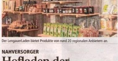 Hofladen der Lebenshilfe in Lengau