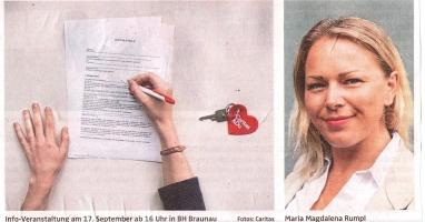 """Neue """"Wohnungsagentur"""": Caritas sucht Vermieter und Ehrenamtliche"""