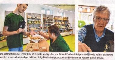 Nahversorger und Ortstreff: LengauerLaden feiert erstes Jahr