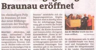 Ort für Begegnung in Braunau eröffnet
