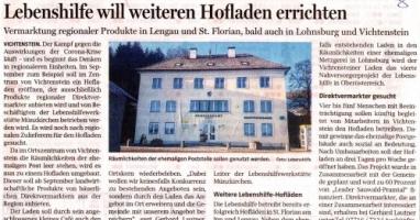 Lebenshilfe will weiteren Hofladen errichten