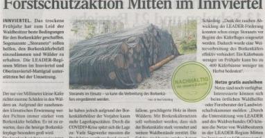 Forstschutzaktion Mitten im Innviertel