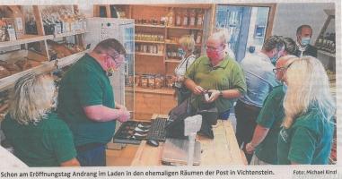 """Nahversorgung: Lebenshilfe bietet neue """"Hofläden"""""""