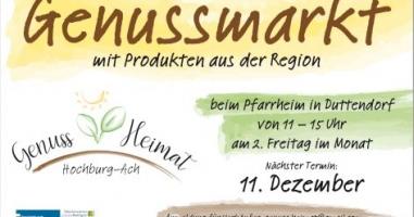 Genussmarkt Hochburg-Ach
