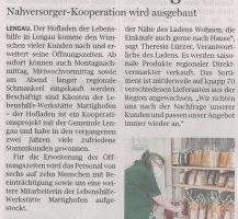 """""""Lengauer Laden"""" mit erweiterter Öffnungszeit"""