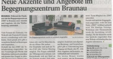 Neue Akzente und Angebote im Begegnungszentrum Braunau