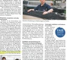 ProWork Braunau: Leitbetrieb und leistungsstarker Anbieter für Lohnfertigung