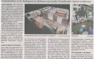 Jägerstätter-Gedenken: Wallfahrt und jetzt auch digitale 3D-Rundgänge