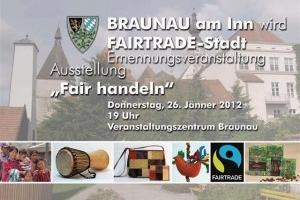 Eröffnung FAIRTRADE-Stadt Braunau