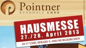 HAUSMESSE bei Rundholz POINTNER