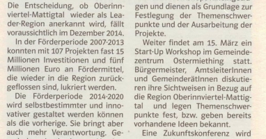 Grenzlandanzeiger, 01. März 2014