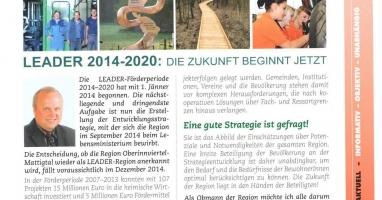Tarsdorf aktuell vom April 2014