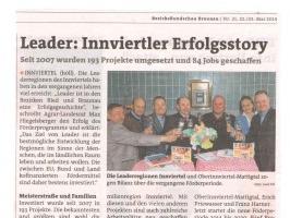BezirksRundschau Braunau vom 22. Mai 2014
