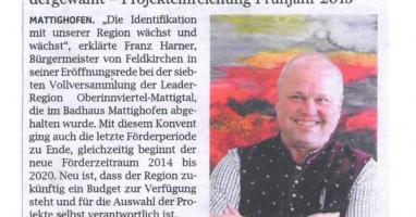 Braunauer Warte am Inn/OÖN vom 09. Oktober 2014