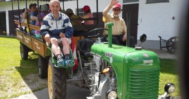 """Barrierefreie Innviertler """"Traktor-Roas"""" in Franking"""