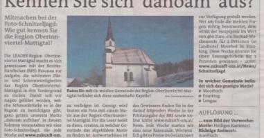 Bis 1859 war es das größte Gotteshaus in dieser Gegend. Wo befindet sich diese Kapelle? (Frage 3)