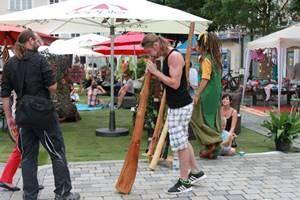 """Sponsoren Stadtoase """"Straßenkunst und Kultur Festival"""" gesucht"""