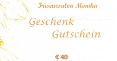 Wolfgang Oberleithner gewinnt den Gutschein vom Frisörsalon Monika!