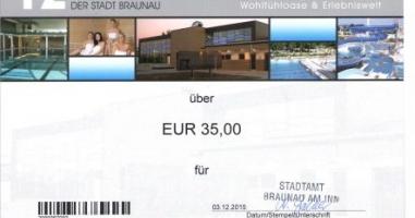Klaus Uhler gewinnt den Braunauer Bädergutschein!