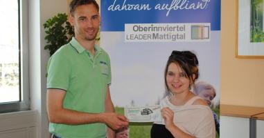 Michaela Schmitzberger gewinnt den Preis aus Geretsberg!