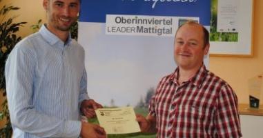Den Freibadgutschein hat Christian Schrattenecker aus Jeging gewonnen!
