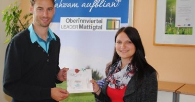 Maria Zauner gewinnt den Preis aus St. Radegund